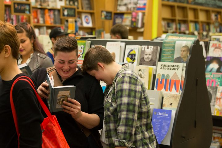 @ the Booksmith in San Francisco
